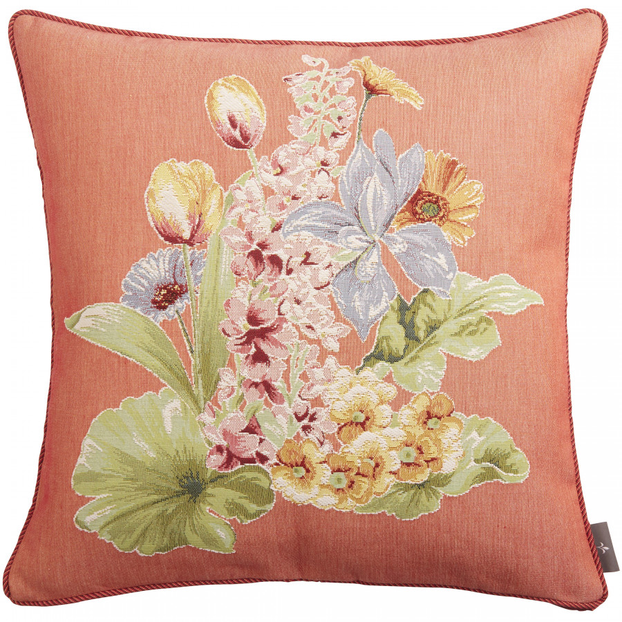 Cushion cover Tapestry Flower bouquet