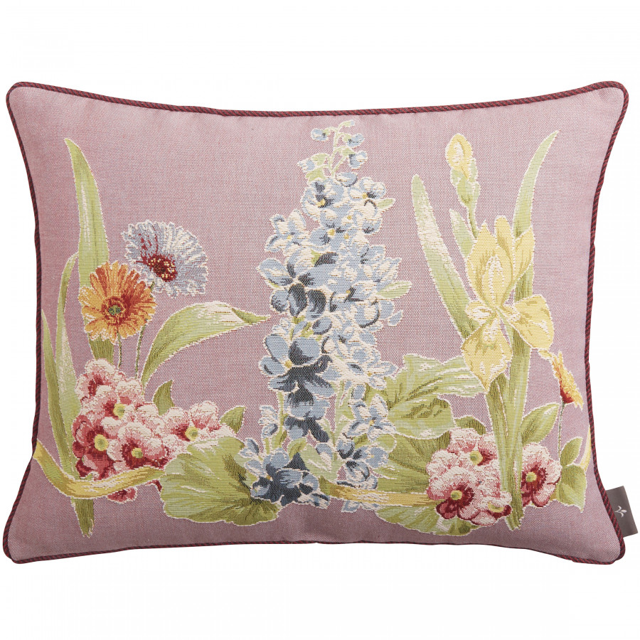Cushion cover Tapestry Flower row