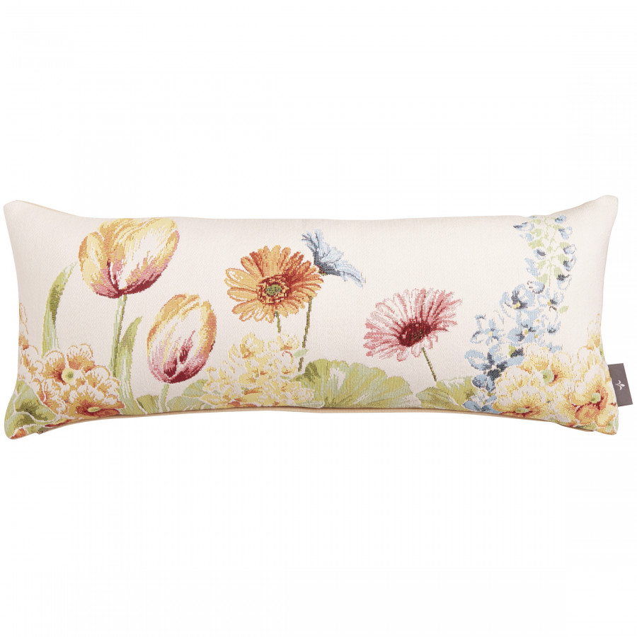 Tapestry cushion cover Flowerbed
