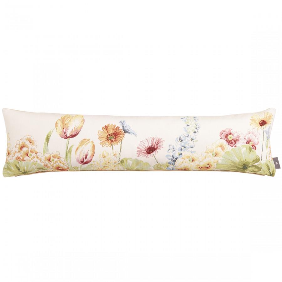 Housse de coussin tapisserie Parterre de fleurs