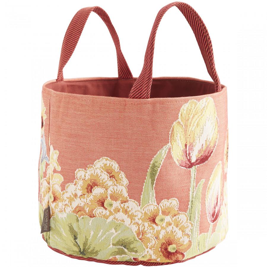 Tapestry basket Flowerbed