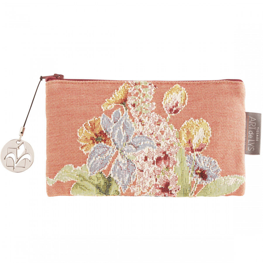 Tapestry purse Flowerbed