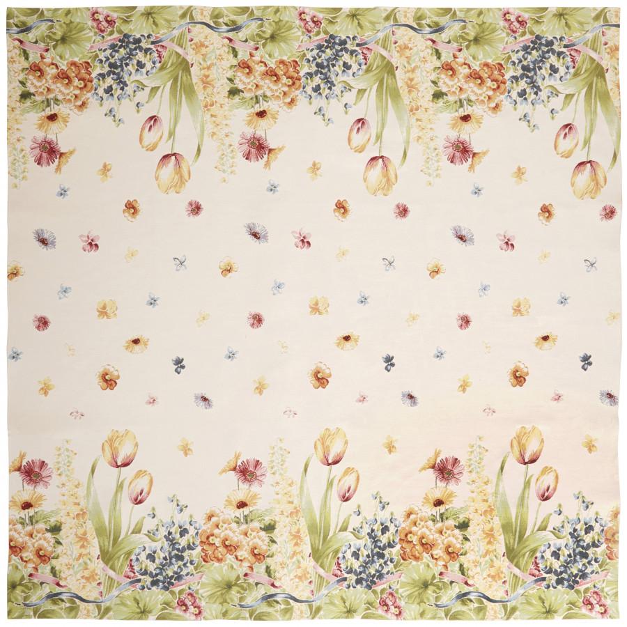 Plaid tapisserie Parterre de fleurs