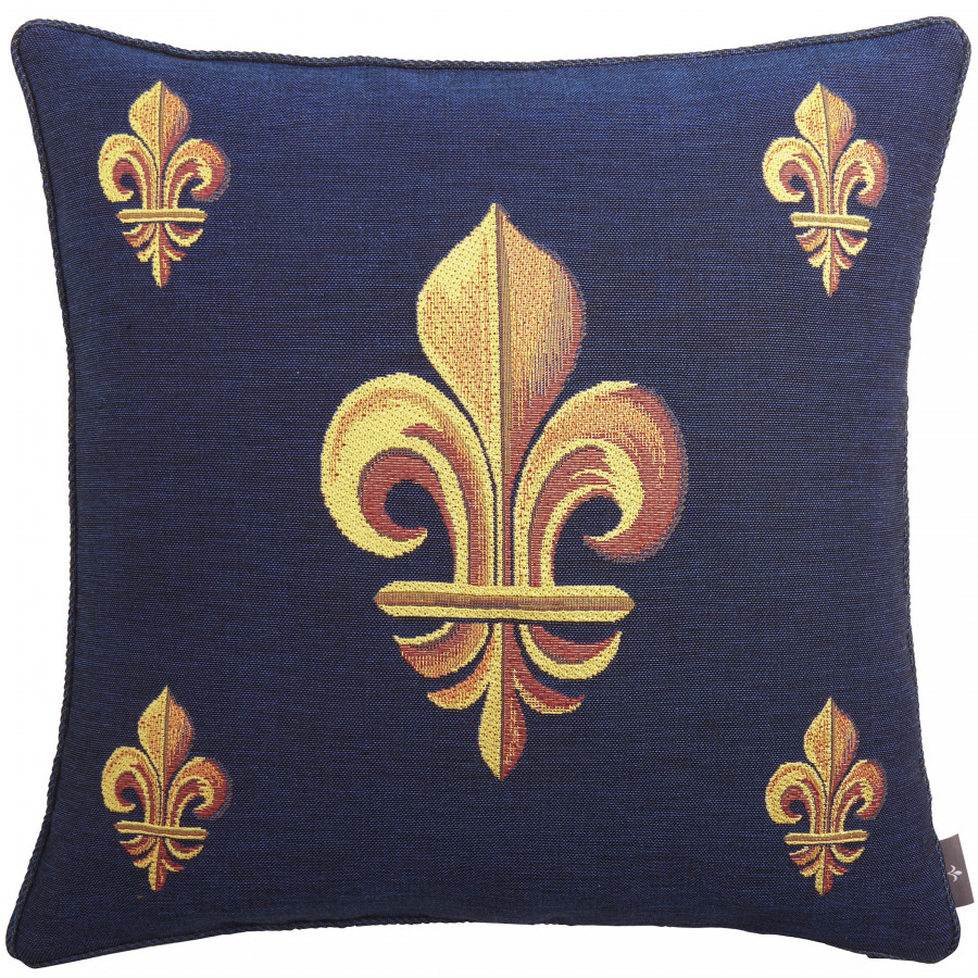 Cushion cover Tapestry 5 Fleurs de Lys