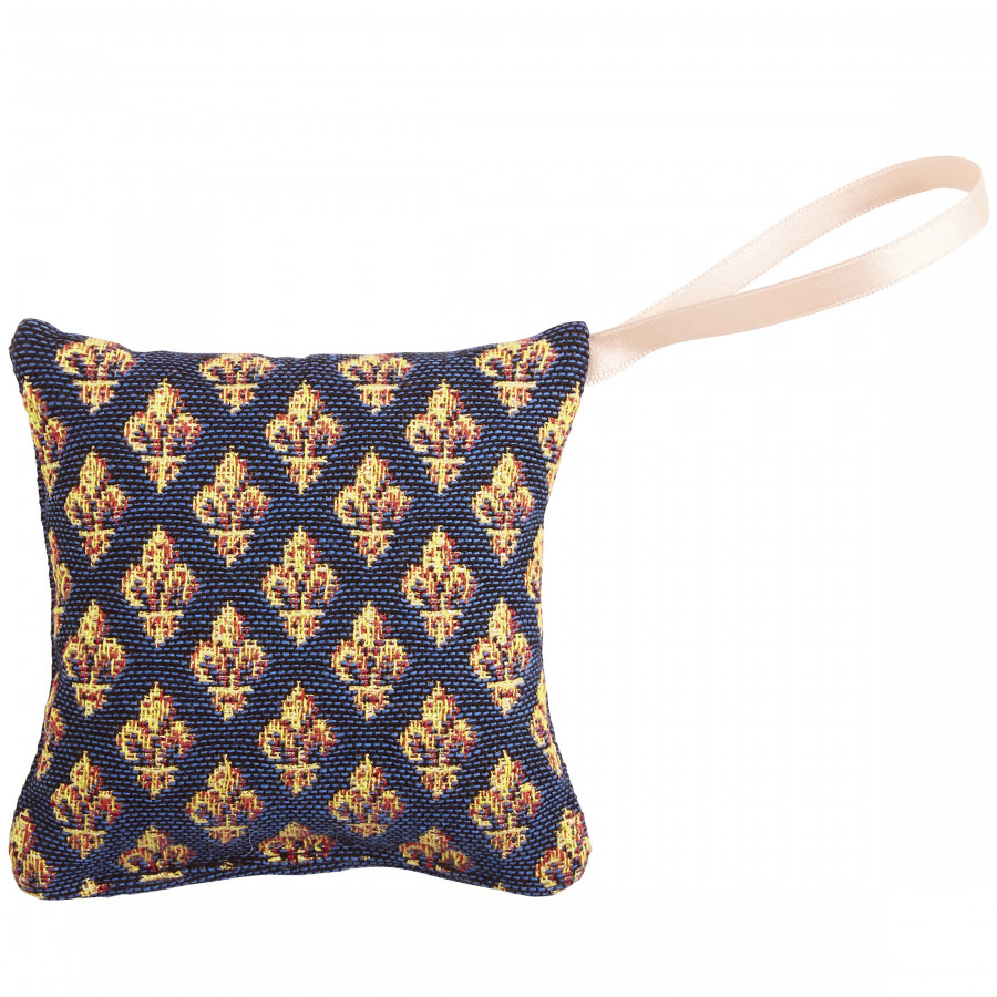 Scented tapestry mini cushion Fleurs de Lys