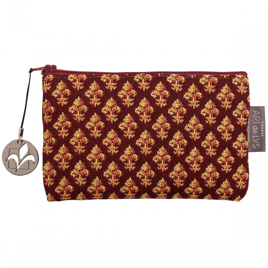 Tapestry purse Fleurs de Lys