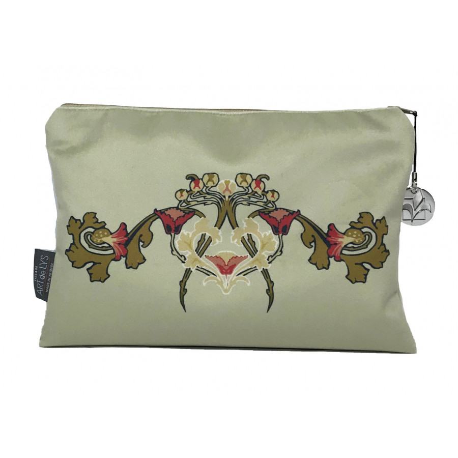 Cosmetic bag Printed purse Lady Velvet