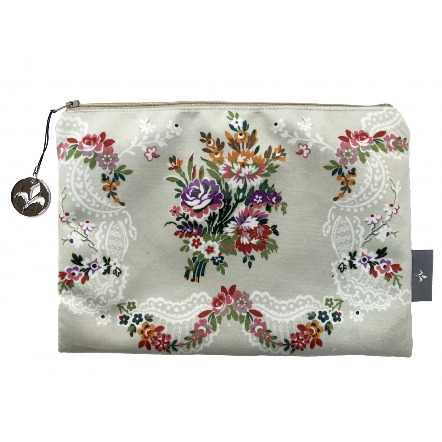 Trousse Bouquet Louis XV Velours