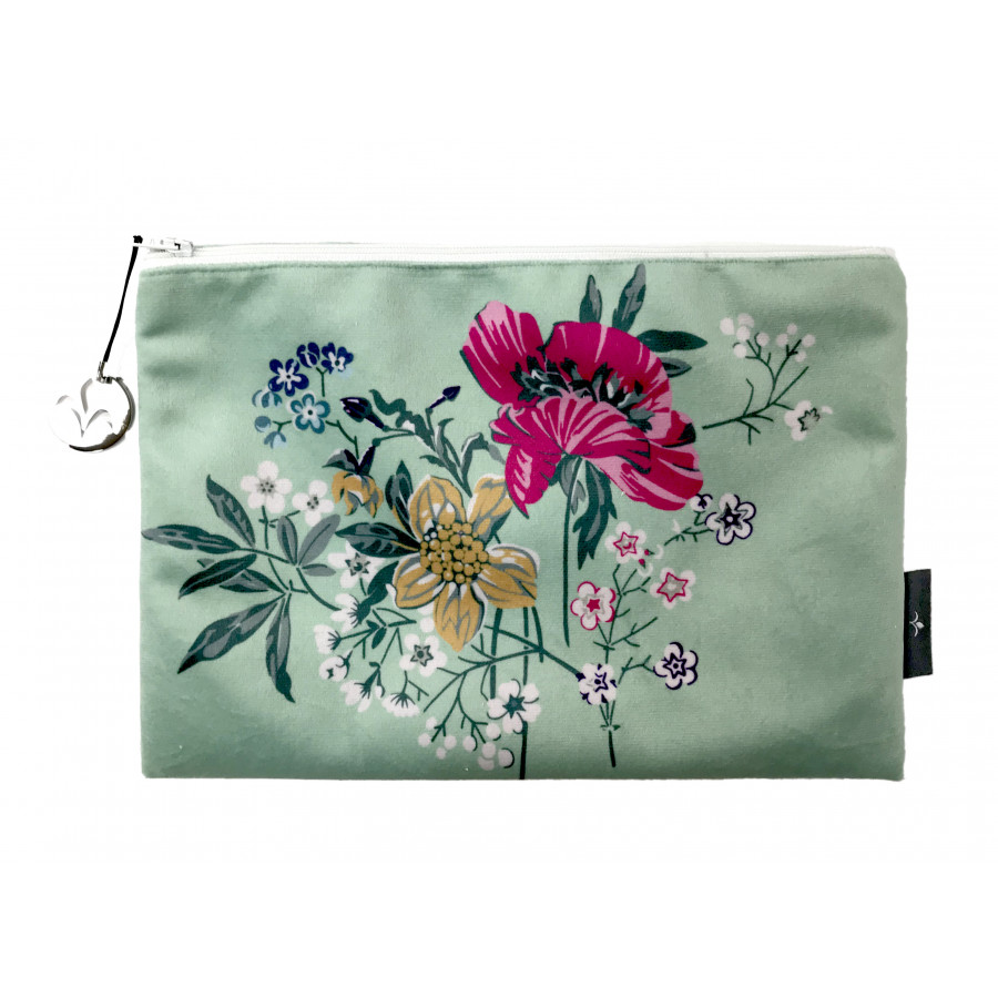 Trousse Bouquet Pavots Velours