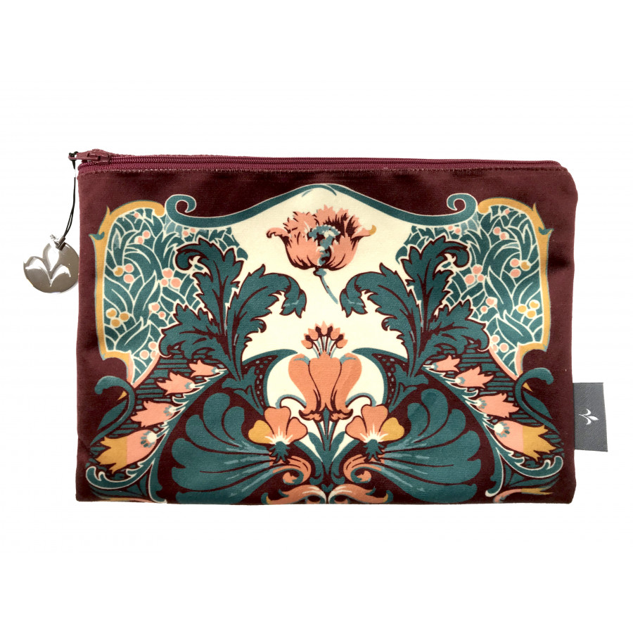 Cosmetic bag Printed purse Ardeco Velvet