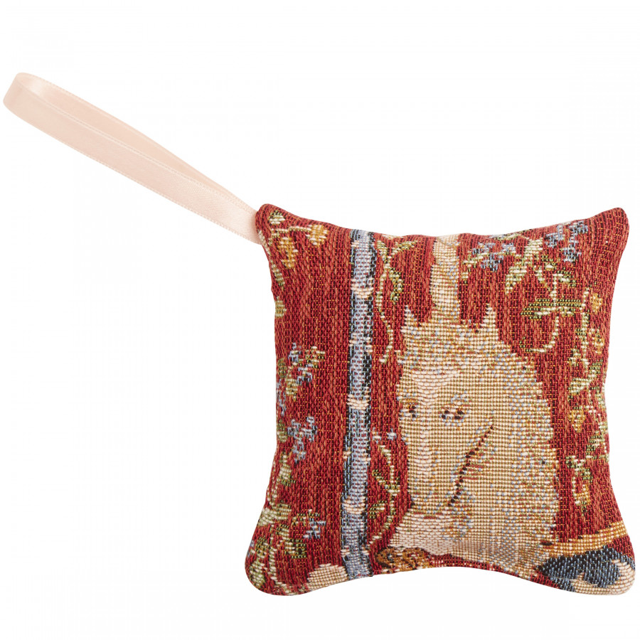 Scented tapestry mini cushion The Unicorn