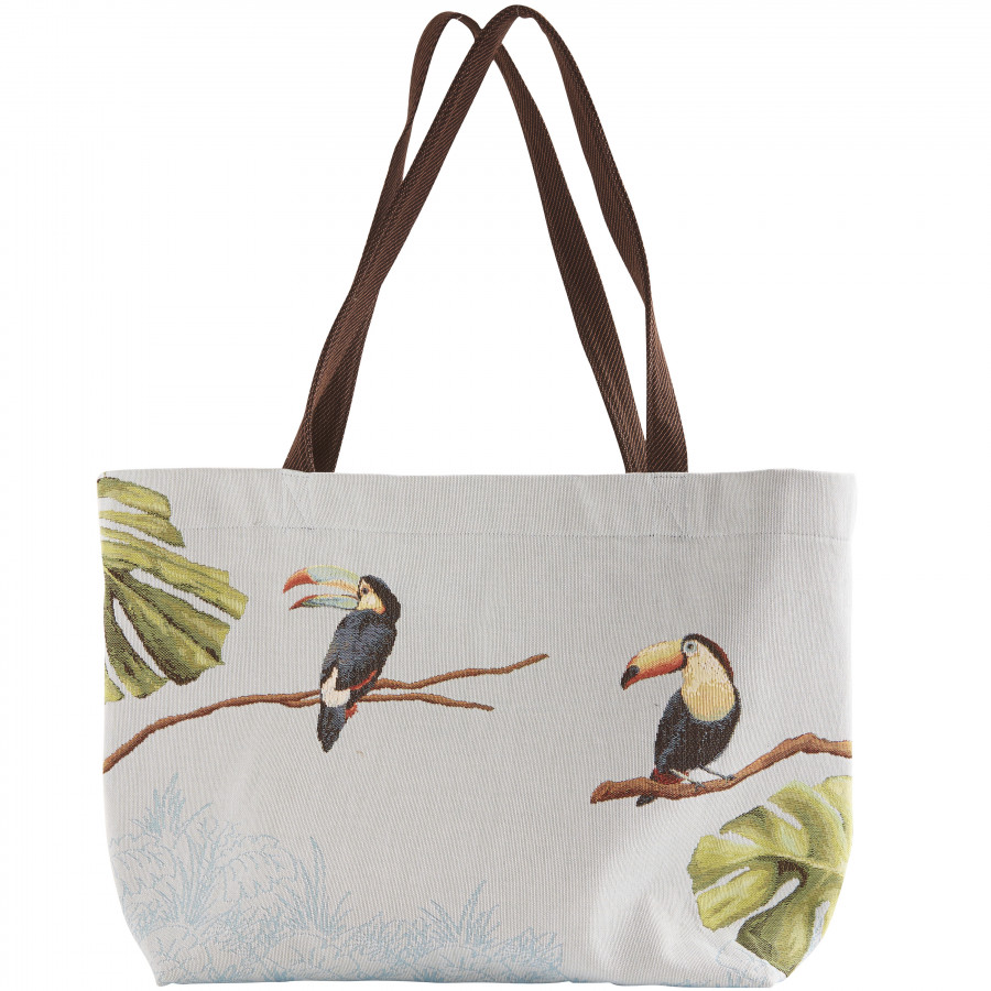 Grand Sac tapisserie Toucan