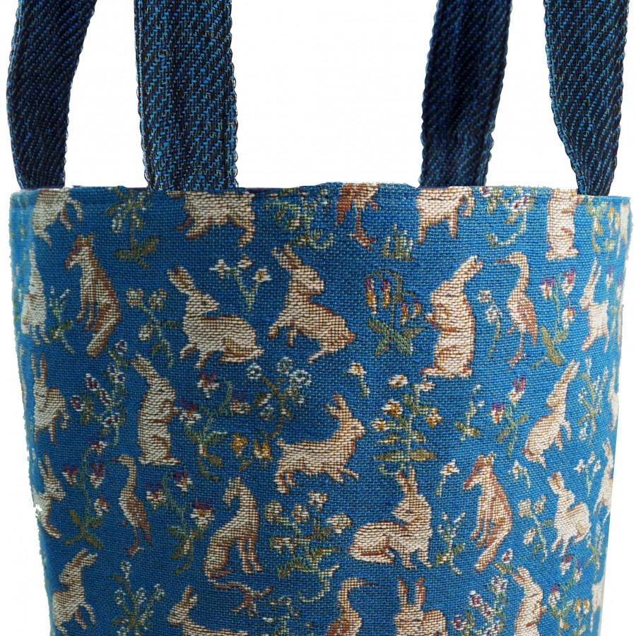 PA2315T : RMN milles fleurs bleu