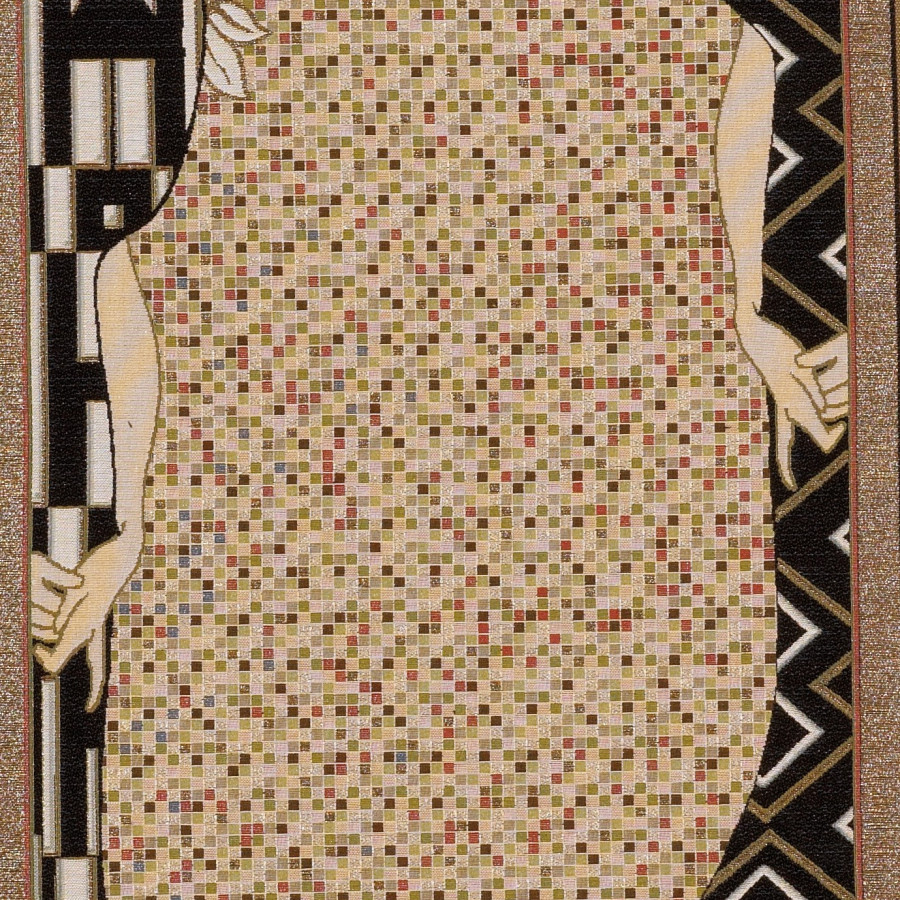 Tapestry Lady, from Klimt