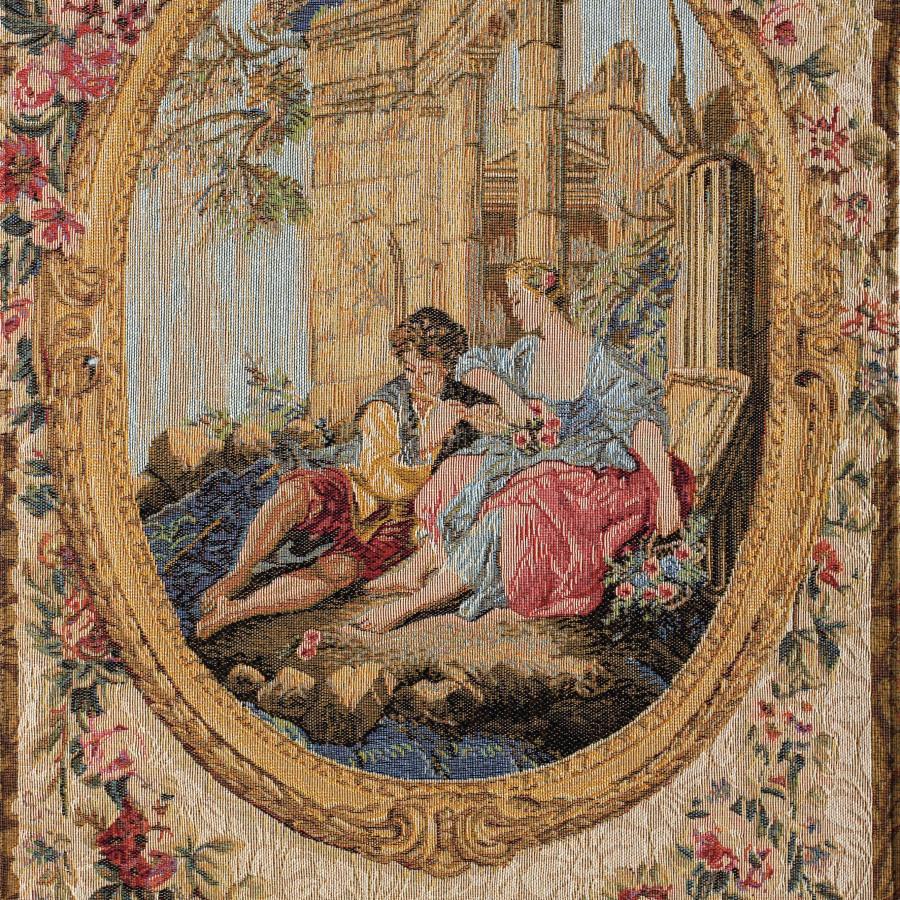 Tapestry Serenade in François Boucher style