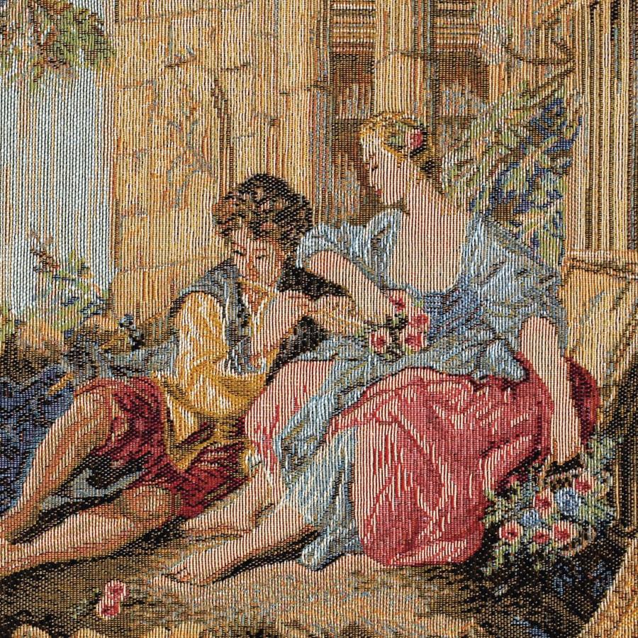 Tapisserie Sérénade à la manière de F. Boucher