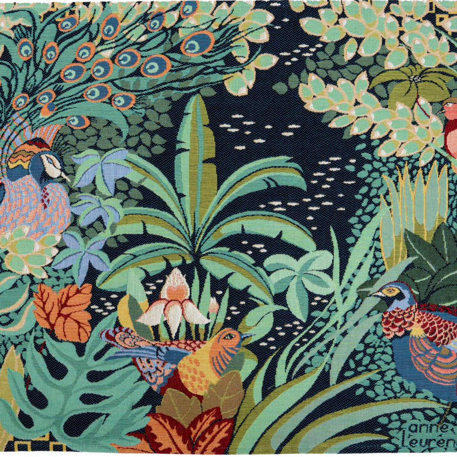 Tapisserie La Jungle, Anne Leurent