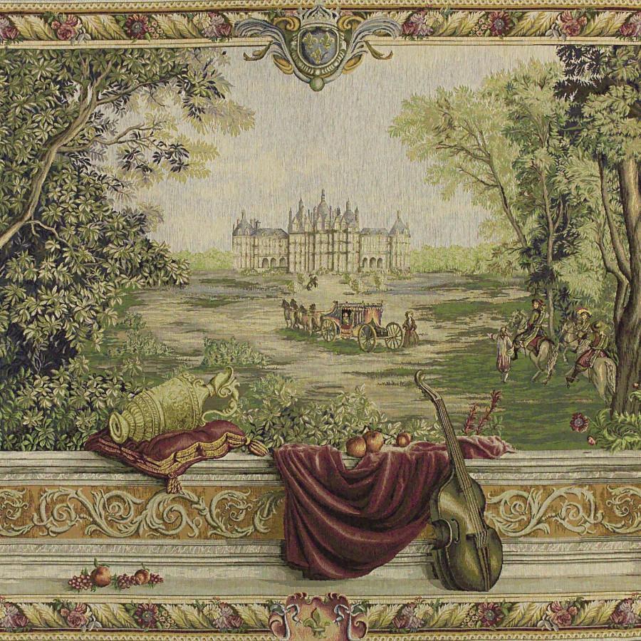 Tapisserie Verdure au château large