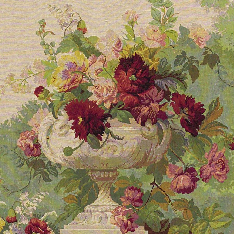 Tapestry Drapé fleuri