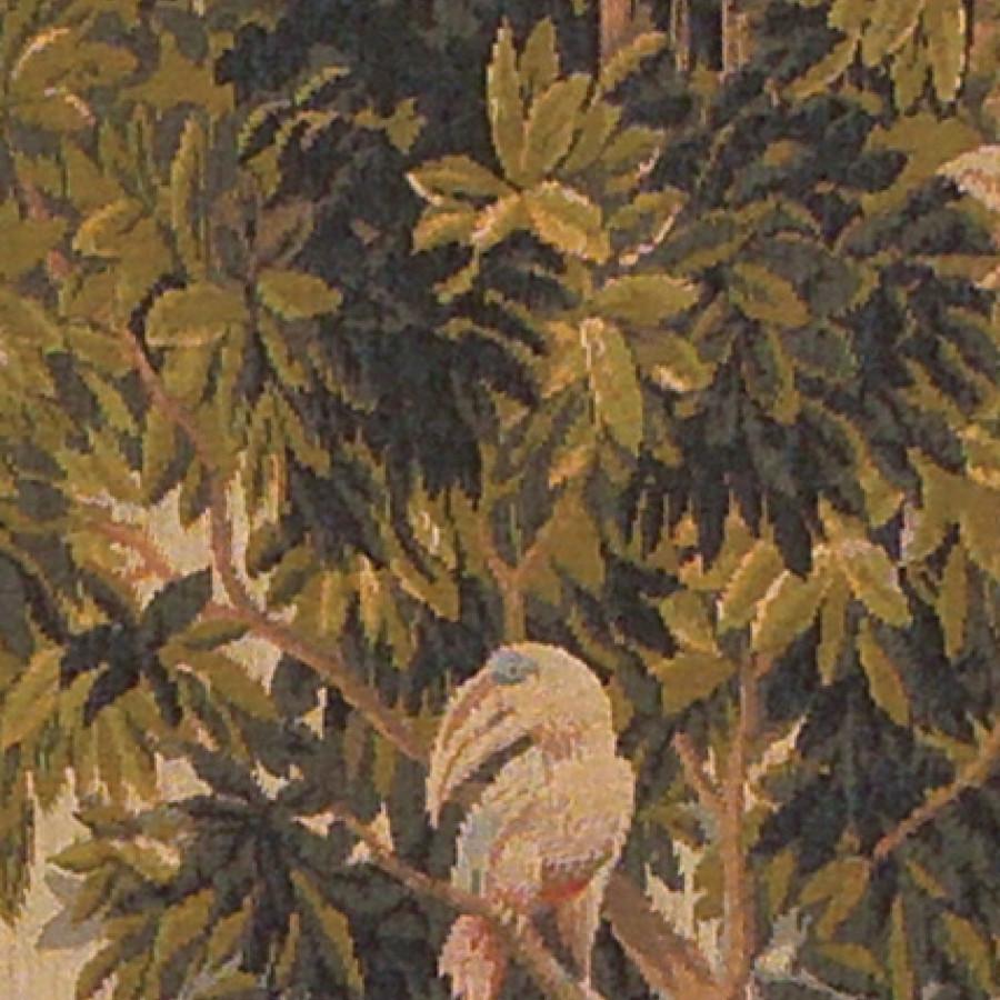 9127  : Verdure aux oiseaux vertical