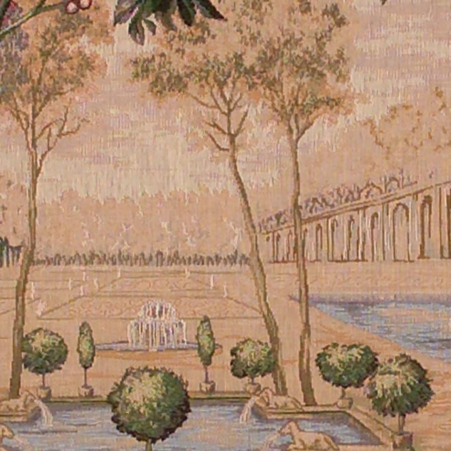 Tapisserie Verdure Fontaine (carrée)
