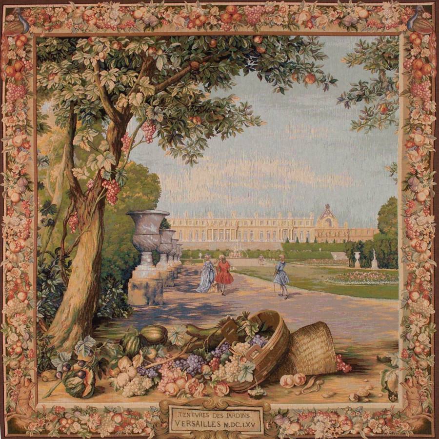 Tapestry Versailles (square)