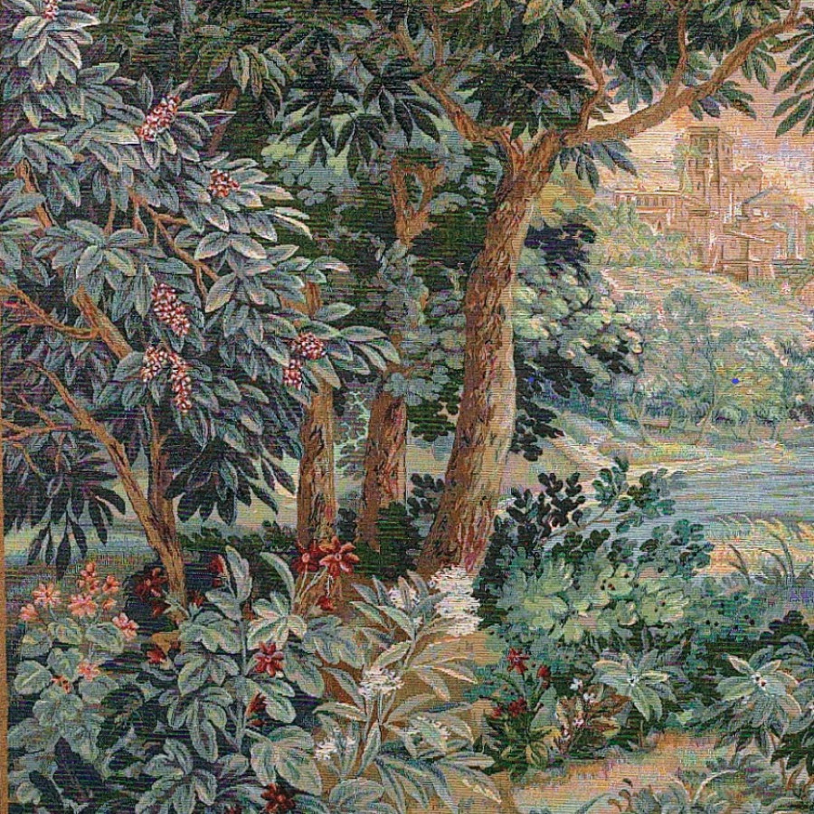 9018 : Verdure cascade