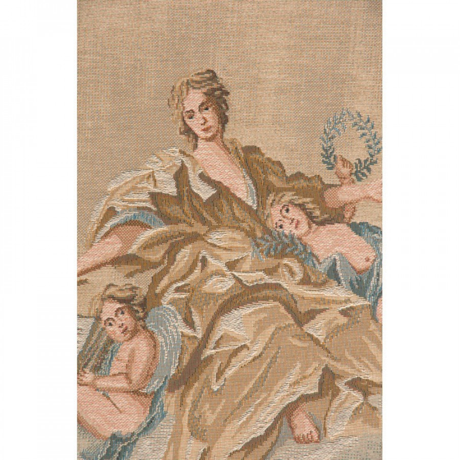 Tapestry  Portière Lady in yellow