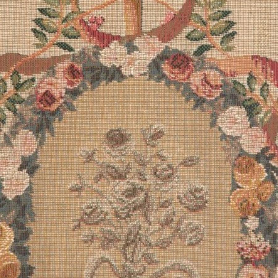 Tapisserie Portière Bouquet