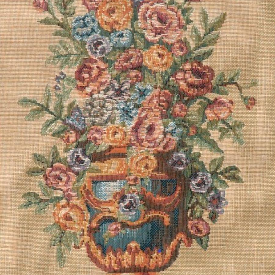 Tapestry Portière Bouquet Elysée palace