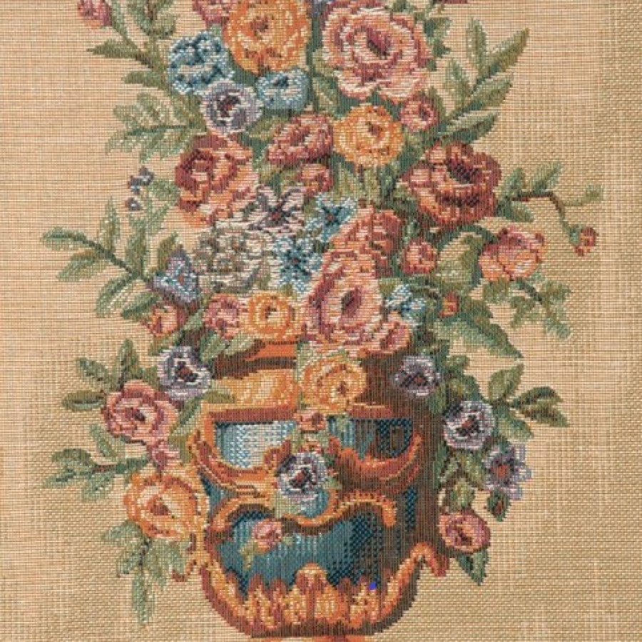 Tapisserie Portière bouquet Palais de l'Elysée