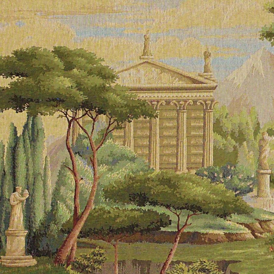 Tapisserie Jardin panoramique