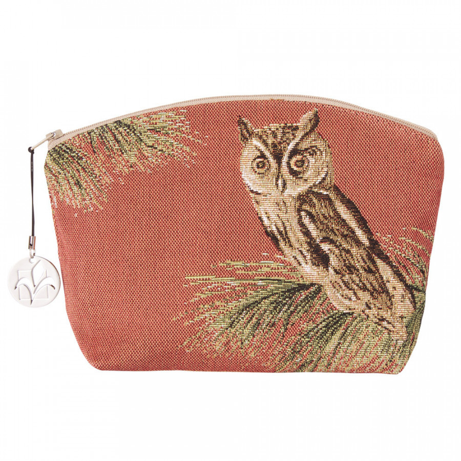 Tapestry purse Owls