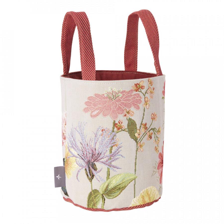 Petit panier Giverny multi fleurs