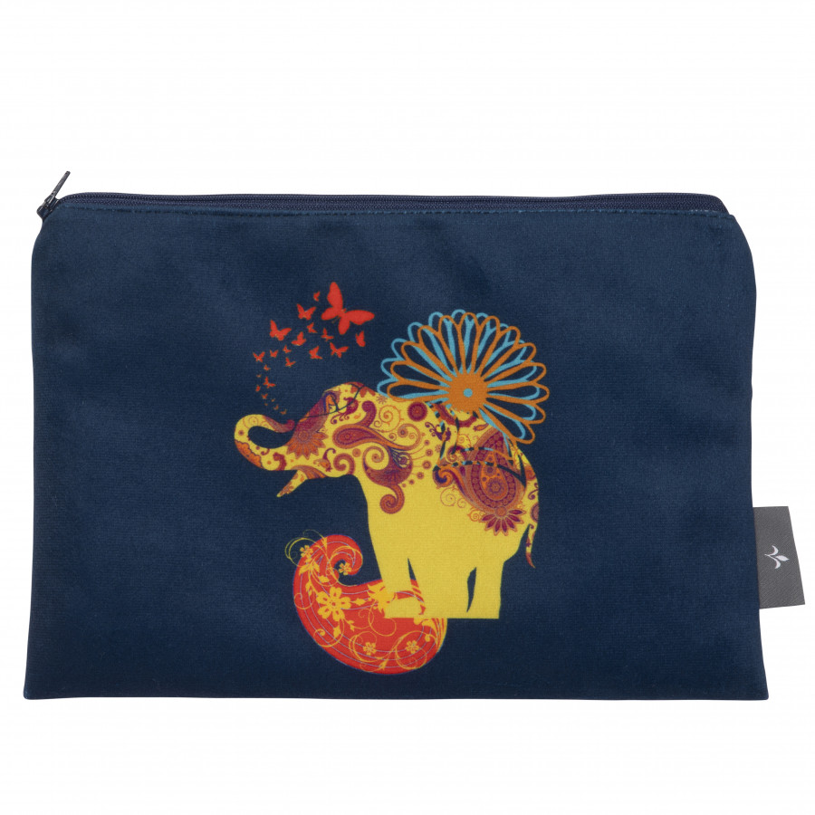 Cosmetic bag Printed purse Elephant