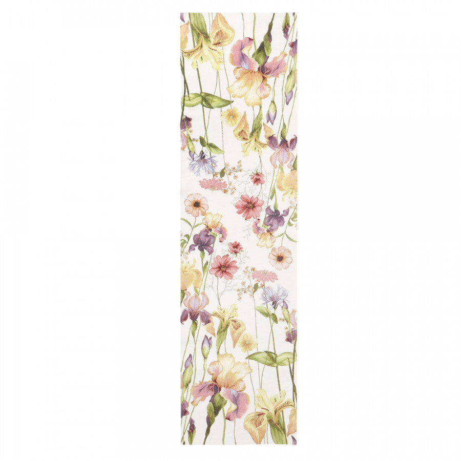 Tapestry runner  Giverny