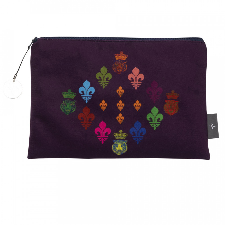 Cosmetic bag Printed purse LILY