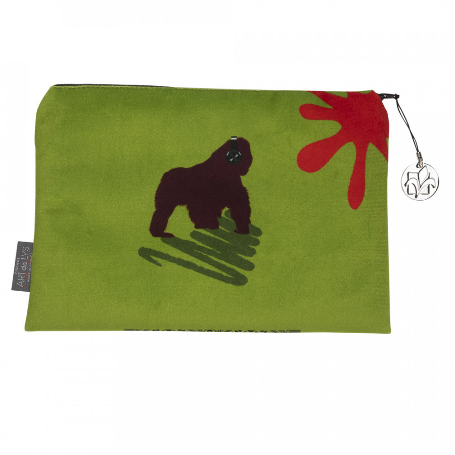 Cosmetic bag Printed purse Gorilla