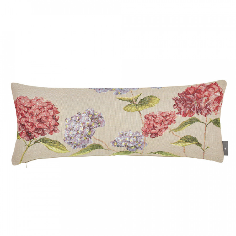 Tapestry cushion cover Hydrangea