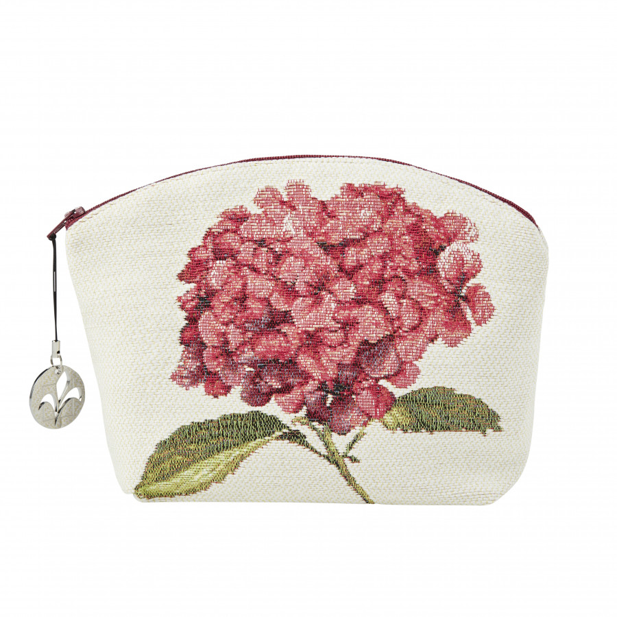 Tapestry cosmetic bag Hydrangea