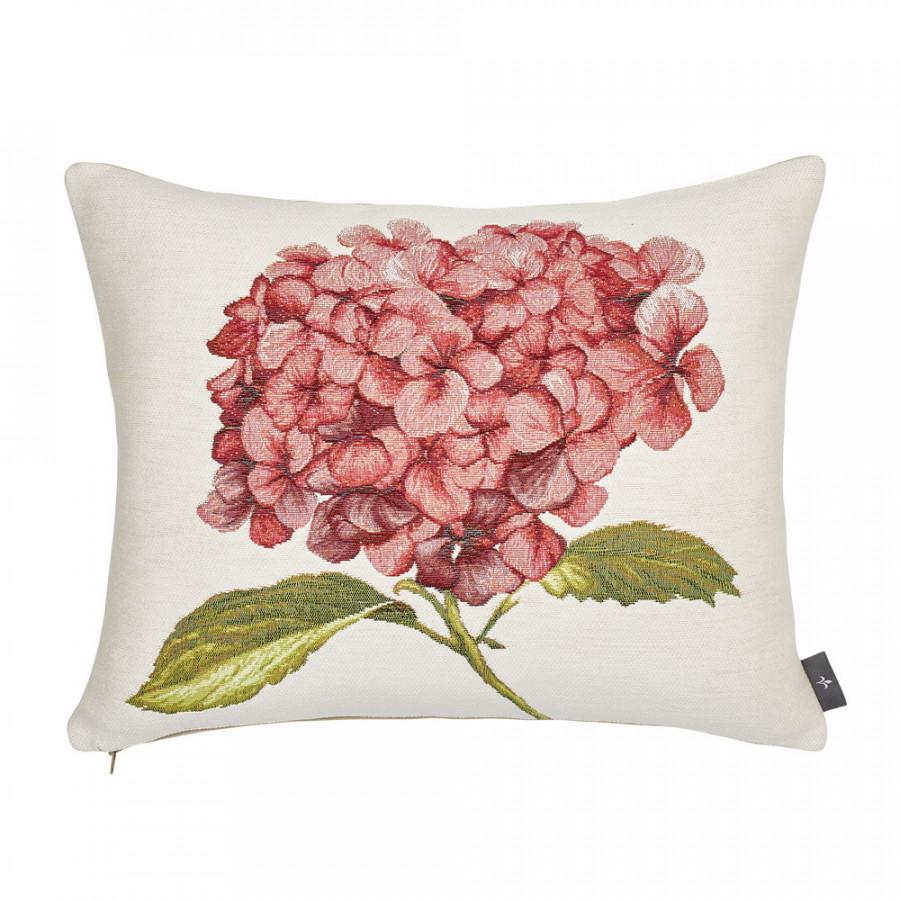 Tapestry cushion cover Hydrangea