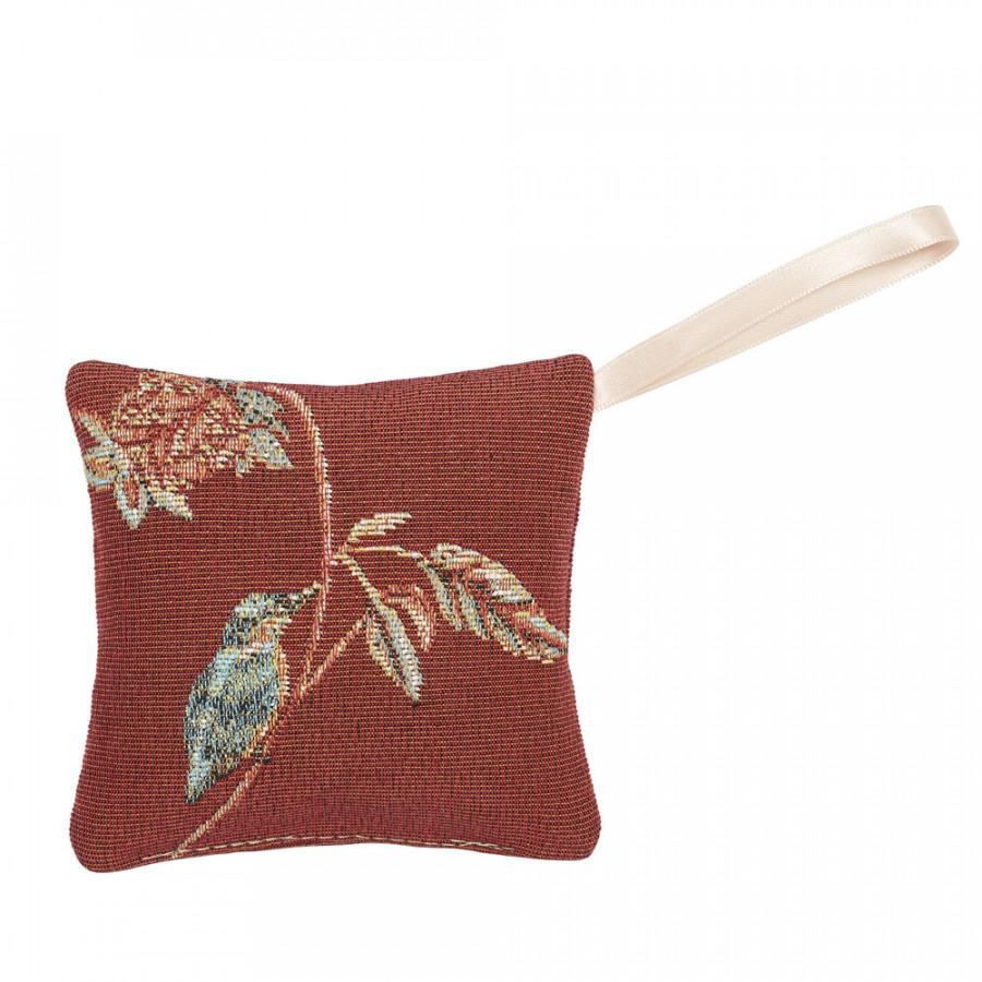 Mini coussin senteur en tapisserie Indiennes