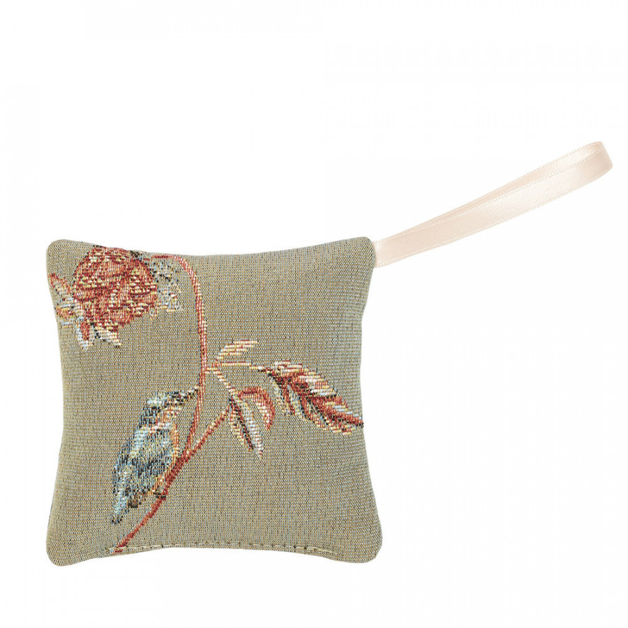Scented tapestry mini cushion Floral Indian