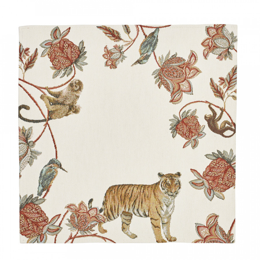 Tapestry table centerpiece Floral Indian