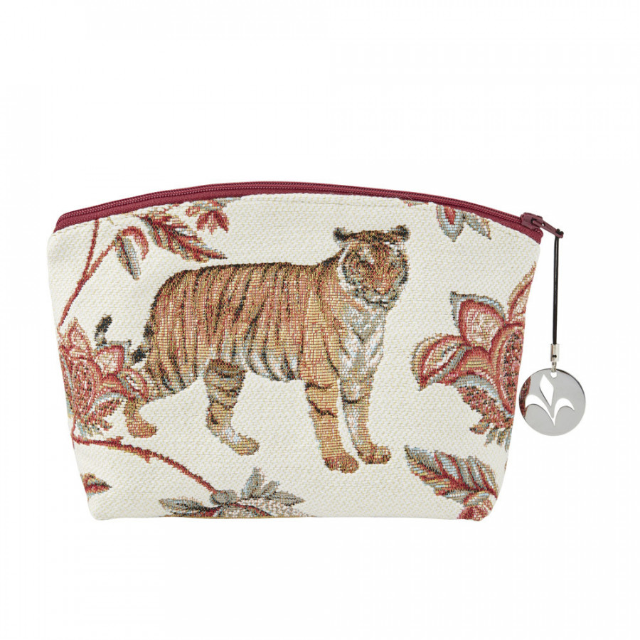 Tapestry cosmetic bag Floral Indian