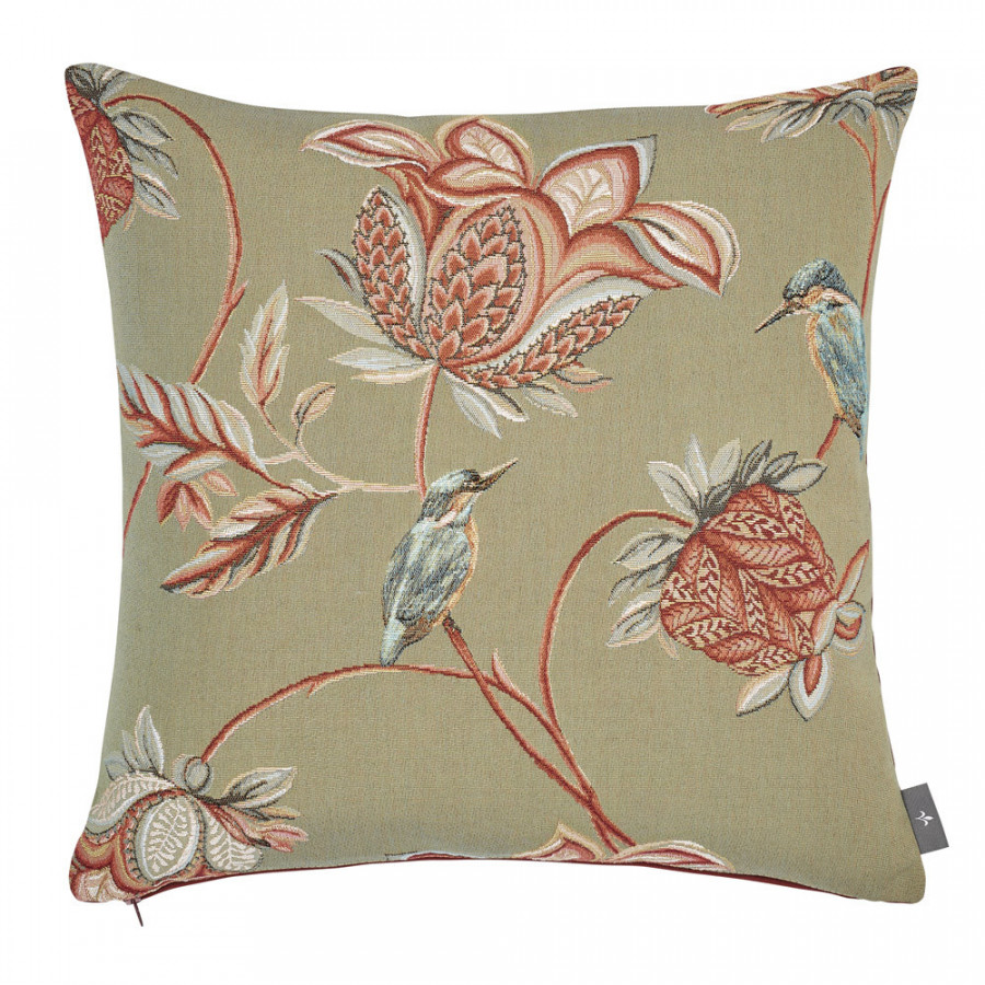 Tapestry cushion cover Floral Indian