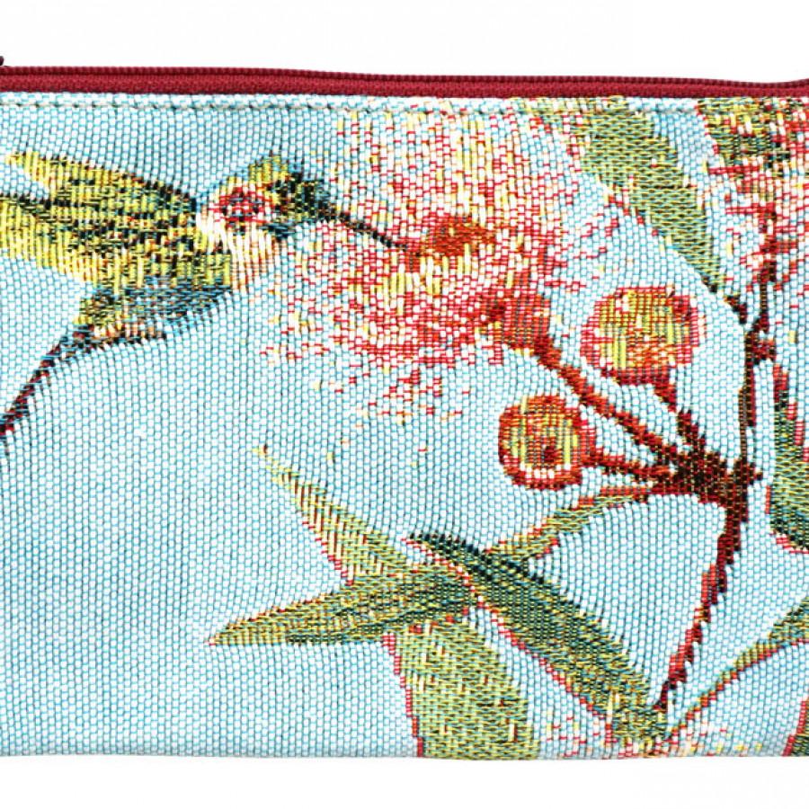 Purse Eucalyptus and hummingbird
