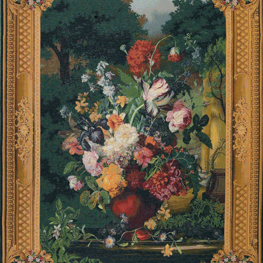 Tapisserie Grand bouquet flamand