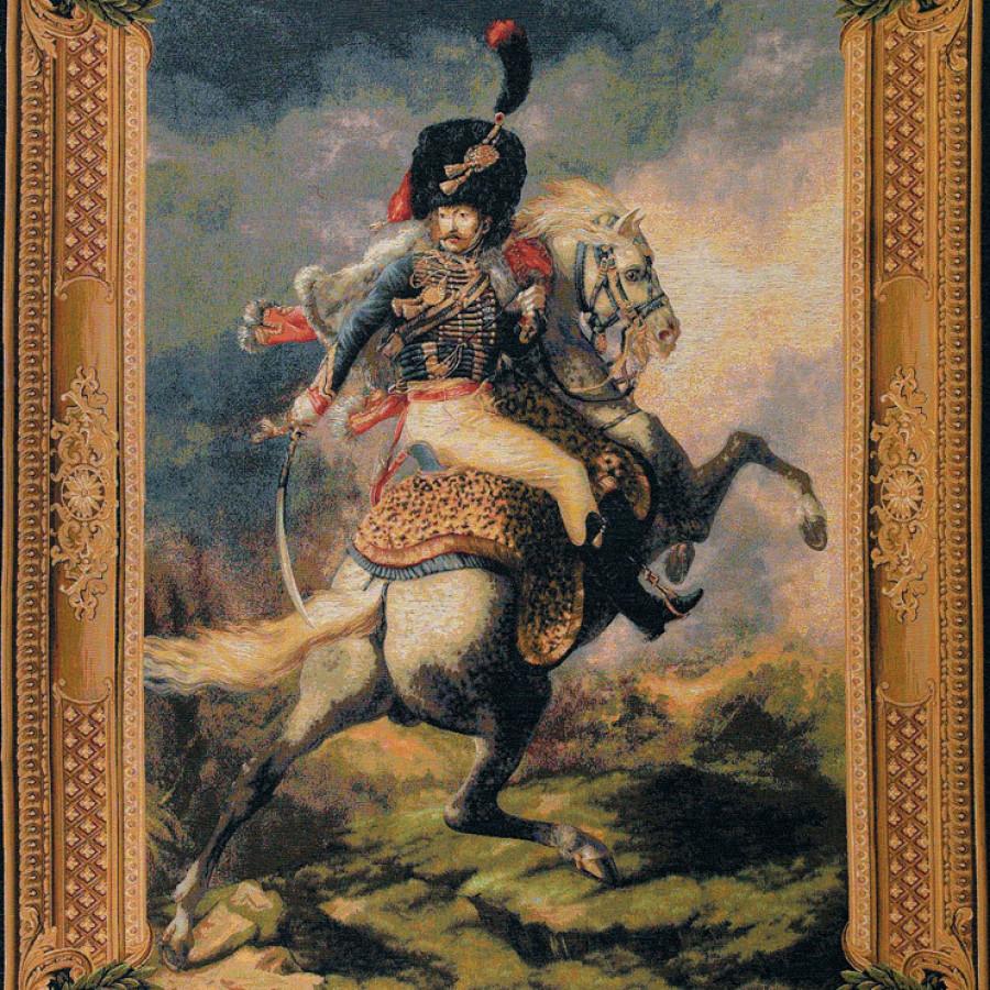 Tapisserie Cavalier de la garde impériale