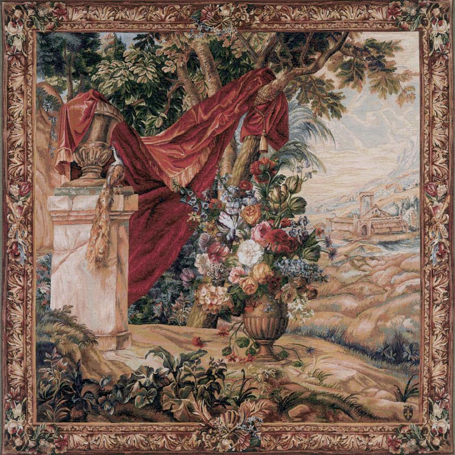 9029 : Bouquet au drapé carré